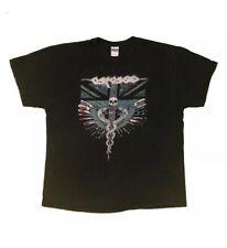 CARCASS Undertaking The Underworld Camden Event T Shirt 2013 Size XL