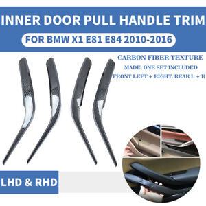BIlinli Left Right Car Interior Door Handles for BMW x1 E84 10-16 Inner Doors Panel Handle Bar Pull Trim Cover Front Rear