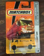 Matchbox - City Action ~ MAINTENANCE YARD Chevy Van ~ Diecast NOC