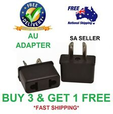 HIGH QUALITY AU Travel Power Adapter from US EU to AU - SA SELLER - FAST POSTAGE