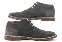 Kenneth Cole Reaction Men's Size 9 Dark Grey Desert Sun Chukka Ankle Boots