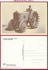 ITALIA MAXIMUM MAXI CARD LAVORO ITALIANO BREDA TRATTORE TESTA CALDA 22 1985 B582