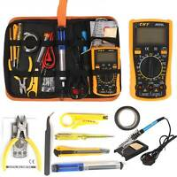 18-in-1 60W Soldering Iron Kit FULL Kit Electronic Welding Irons Useful Tool
