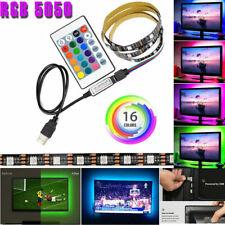 16 Color LED 5050 LED Light Strip Backlight USB Powered