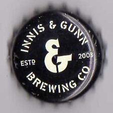 UK Beer Bottle Top Crown Cap - Innis & Gunn Brewery - Scotland  (version d)