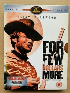 For a Few Dollars More DVD 2-Disc Special Edition 1965 Spaghetti Western Classic