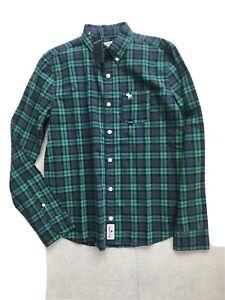 BNWT Abercrombie Kids Check L/S Shirt Age 15-16