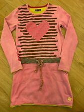 Girls KIDZ ART Boutique Pink Dress Size 6-7 EEUC