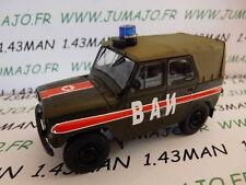 Voiture 1/43 IXO déagostini RUSSE Service : UAZ 469 Police militaire 4X4
