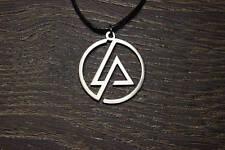 Linkin Park pendant necklace Chester Charles Bennington artist rock logo symbol