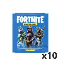 Panini Fortnite Ready to Jump! 2019 Sticker Collection 10 packs Multi Buy Offer