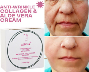 ✔UK Cream Anti Ageing Collagen Neck Facial Wrinkles 60ml