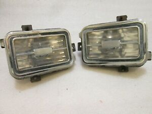 75 1975 Buick Regal Right Side Park Turn Signal Light Housing Bezel ((PAIR))