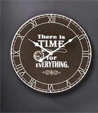 Gift Craft There Is Time For Everything Wall Clock