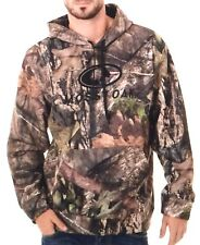 Mossy Oak Mens M Break Up Camo Performance Pullover Fleece Hoodie Sweatshirt
