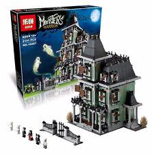 2141Pcs Monster Fighter The haunted House Model Building Blocks Bricks Toys