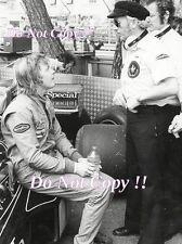 Ronnie Peterson & Colin Chapman John Player Special Lotus F1 Portrait Photograph
