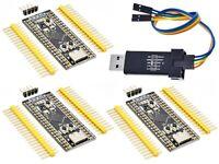 3 x STM32 STM32F411CEU6 - 100MHz - 512kB Flash incl. ST-Link V2 USB Programmer