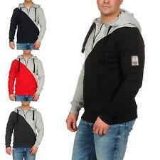 Marikoo Herren Sweatshirt Color Block Kapuzenpullover Hoodie Sweater Tamaroo NEU