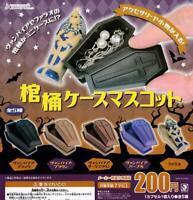 J Dream coffin case mascot Gashapon 5 set mascot capsule toys