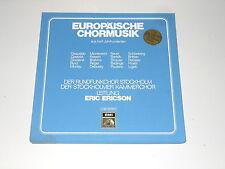 Europäische Chormusik - 4LP Box - Eric Ericson - GESUALDO - LIGETI - DEBUSSY