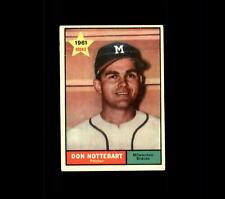 1961 Topps 29 Don Nottebart VG #D441020