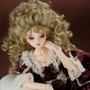 "[Dollmore]  1/3 BJD Size (8-9)"" Reona Long Wig (D.Blonde)"