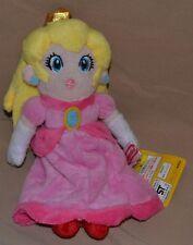 "8"" Peach Princess Plush Dolls Toys Stuffed Animal Super Mario Brothers Bros Girl"