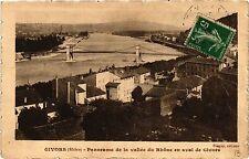 CPA GIVORS Panorama de la Vallee du Rhone en aval de Givors (461915)