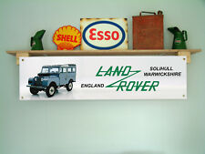 Land Rover Series 1 BANNER for workshop garage or classic LandRover display use