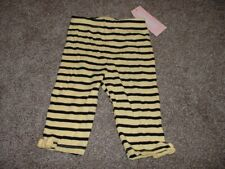 NWT Gymboree Baby Girl CUTE AS CAN BEE Bumble Knit Stripe Pants 0 3 chic