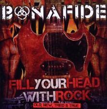 Bonafide-fill your head with rock-CD nuevo