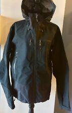PATAGONIA Men's Black Gore-tex Goretex Triolet Jacket - Size Large (L)