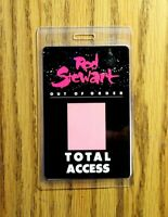 "Rod Stewart  ""OUT OF ORDER TOUR"" Total Access Laminated Pass"