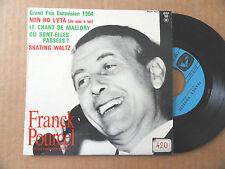 """DISQUE 45T DE FRANCK POURCEL   """" NON HO L'ETA """" EUROVISION 1964"""