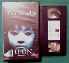 VHS FILM Ita Horror THE GRUDGE Ju-On Rancore SHIMIZU TAKASHI ex nolo no dvd(VH74