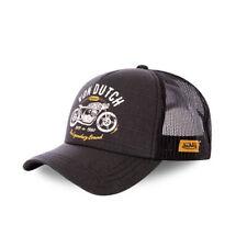 VON DUTCH TRUCKER CAP - CREW9 BLACK **BRAND NEW & IN STOCK**