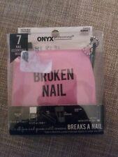 Onyx Professional Broken Nail Emergency Kit, 7 Piece NEW
