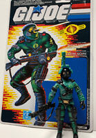 GI Joe Complete Night Viper V1 1989 Full Canadian Variant File Card ARAH Cobra