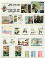 s23593) COLOMBIA 1981/84 MNH** Lot of different sets 29v