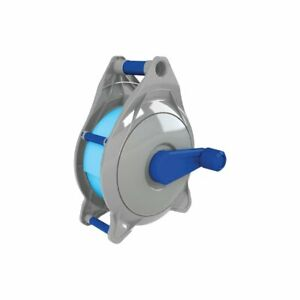 Backwash hose reel pool filter cleaner storage 38mm 50mm 30m flat hose roller