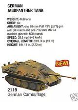 German Jagdpanther Camo Tank Destroyer 88mm- Boley Depart 1/87 HO