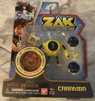 Zak Storm Caramba with Level-Up Coin New MOSC Netflix