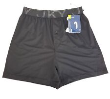 Jockey Mens Microfiber Sport Boxer Shorts Sz Small NWT Moisture Wicking Stretch
