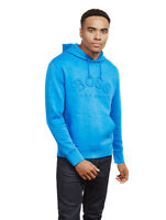 Hugo Boss Men's Stretch Cotton Blend Sporty Logo Hoodie Sly 50388678 Blue
