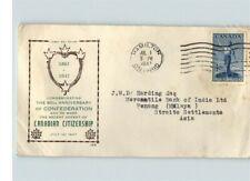 Canada, 1947 Canadian Citizenship 80th Anniversary of Confederation, Hamilton, O