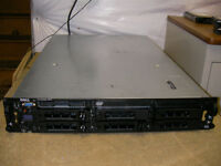 Dell Poweredge 2850 Server 2x3.4GHz CPUs 4GB 3x146GB RAID 64Bit 2U