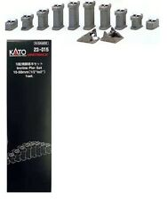 "Kato N  1/2"" to 2"" Incline Pier Set  KAT23015"