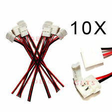 10 x LED Strip Connectors Connector Adapters for 3528 5050 Light Fittings Lights