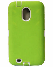 Green Protector Hard Cover Case for Samsung Galaxy S II 2 Epic Touch 4G D710